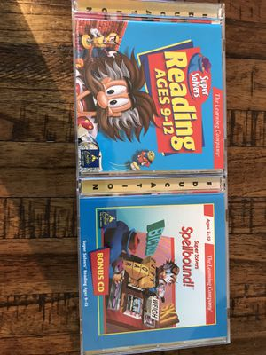 Super Solvers Reading Ages 9-12 Educational CDs for Windows & Mac for Sale in Fort Worth, TX