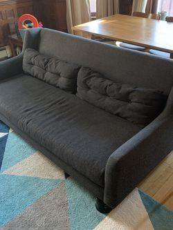 West Elm Crosby Mid-Century Sofa - Broken Leg - Must sell Soon! for Sale in Brookline,  MA