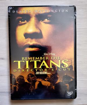 Disney Remember the Titans (Director's Cut DVD) Denzel Washington for Sale in VLG WELLINGTN, FL