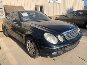 2005 MERCEDES W211 E320 FOR PARTS PARTING OUT E350 E500 E-CLASS for Sale in Dallas, TX