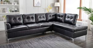 New Black Sectional Sofa for Sale in Austin, TX