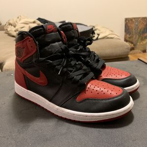 """Air Jordan 1 Retro 2016 Banned """"OG"""" Bred Size 9 for Sale in Voorhees Township, NJ"""