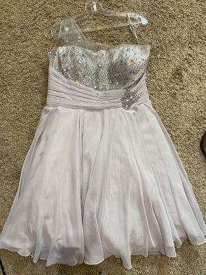 Silver Fancy Dress (size 14) for Sale in Imperial, CA