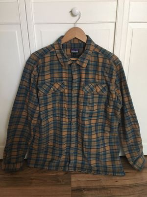 Patagonia Men's Long Sleeve Fjord Flannel Size Large for Sale in Alameda, CA
