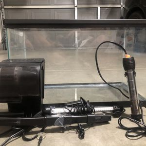 10 Gallon Fish Tank Setup for Sale in Corona, CA