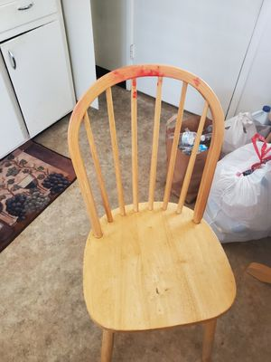 Kitchen table with extender and 4 chairs for Sale in Berkeley, CA