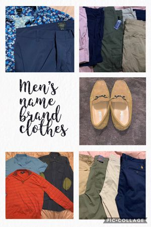 Men's name brand clothes & shoes for Sale in Granbury, TX