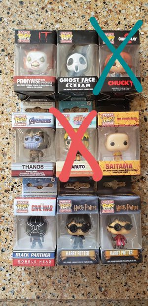 Funko pop keychains Halloween special for Sale in Covina, CA