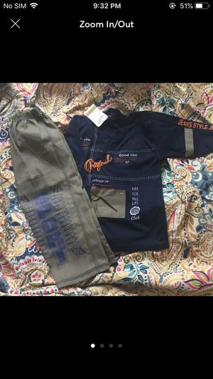3t boys outfit clothes suit top bottom for Sale in Silver Spring, MD