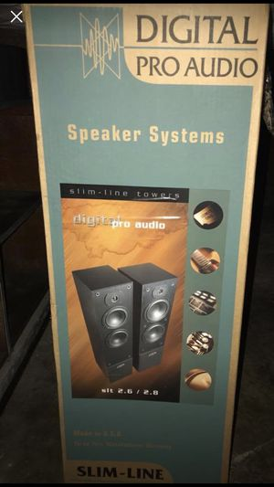 Digital Pro Audio Tower Speakers (2) for Sale in IND HEAD PARK, IL