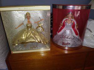 2 celebration Barbie's for Sale in Bensenville, IL