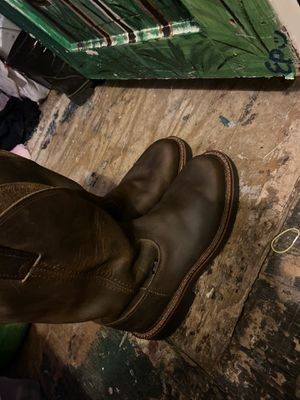 Justin work boots for Sale in Tomball, TX