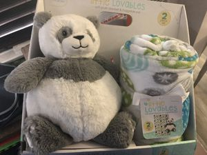Stuffed bear and blanket for Sale in Upland, CA