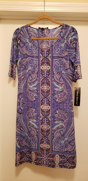 Purple dress (size 12/L) - NEW for Sale in Bethesda, MD