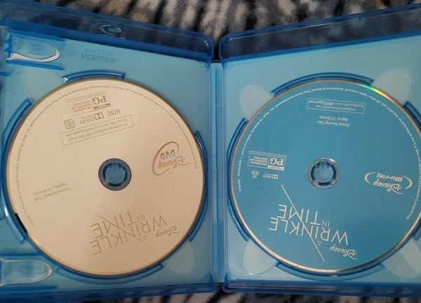 A Wrinkle in Time DVD & Blu-ray Set. Brand New