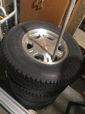 """16"""" rims with tires for Sale in Wenatchee, WA"""