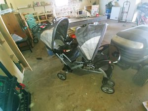 BabyTrend Sit and Stand Double Stroller for Sale in Stayton, OR