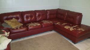 FREE red sectional for Sale in Tampa, FL