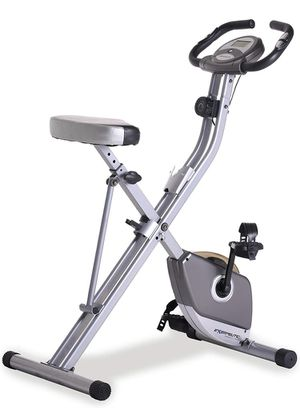 Folding Magnetic Upright Exercise Bike with Heart Pulse for Sale in Santa Clarita, CA