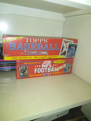 Old baseball cards and football collection for Sale in Winter Haven, FL