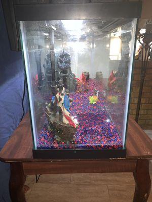 Top Fin 50 Gallon Fish Aquarium for Sale in Crowley, TX