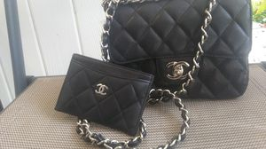 Vintage chanel bag with new wallet for Sale in Winter Park, FL