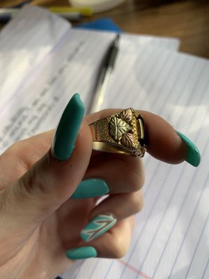 Men's gold ring for Sale in Bellevue, WA