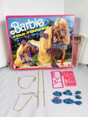 "Vintage 1991 Mattel Barbie ""Star Stepper"" Box w/accessories for Sale in Pawtucket, RI"
