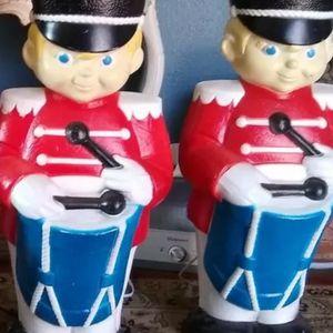 Vintage Blow mold Drummers Boys for Sale in Orange, CA