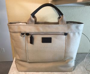 Large Banana Republic canvas and leather unisex bag for Sale in Tempe, AZ