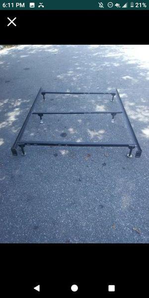 QUEEN OR FULL BED RAILS OR FRAME for Sale in Norfolk, VA