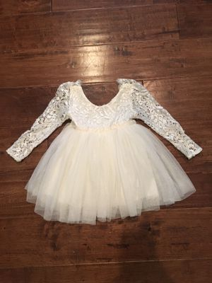 Ivory 12 Month Lace Dress for Sale in Raleigh, NC