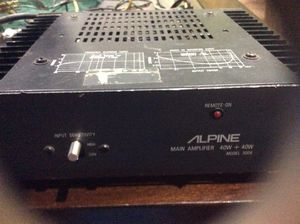 Alpine AMP (retro) for Sale in Pittsburgh, PA