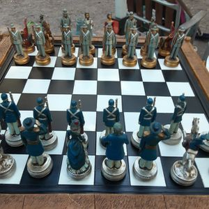 Civil War Collectible Chess Set for Sale in Winter Haven, FL
