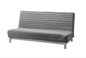 Grey IKEA futon with cover for Sale in Garden Grove, CA