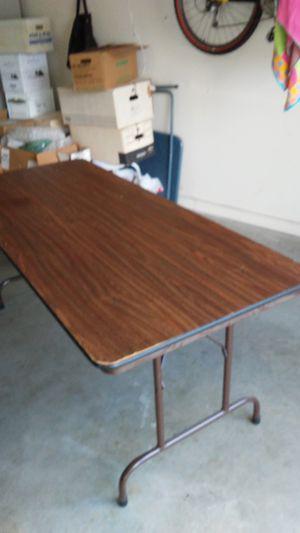 8' banquet table for Sale in Cedar, MI