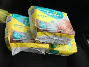 Pampers Preemie for Sale in Norfolk, VA