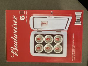 Budweiser 6 can mini fridge for Sale in Lansdale, PA