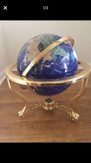 World Globe Gemstone antique for Sale in Boca Raton, FL