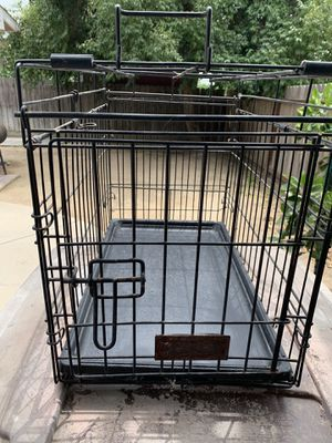 Animal cage carrier. Dimensions 22' long 16' deep and 13' wide. for Sale in Kingsburg, CA