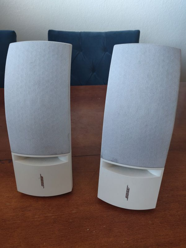 Two Bose speakers