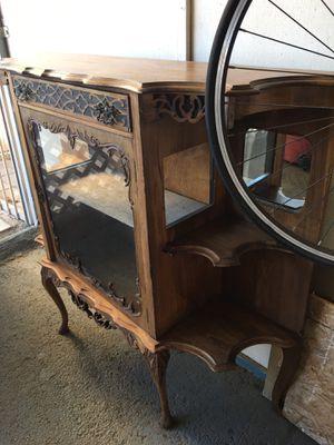 Antique cabinet/ location Glendora for Sale in Azusa, CA