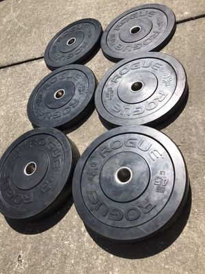 ROGUE 2.0 BUMPER PLATE SET for Sale in Wesley Chapel, FL