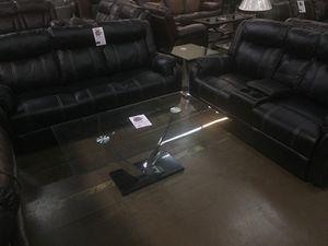 Sofa w/drop down storage and love seat for Sale in Dallas, TX