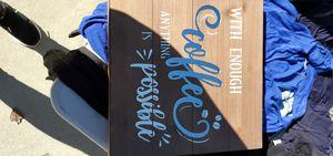 Coffee frame for Sale in Hemet, CA