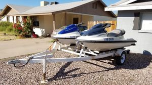 2 Polaris jet ski s. 1200cc genesis 700cc freedom for Sale in Tempe, AZ