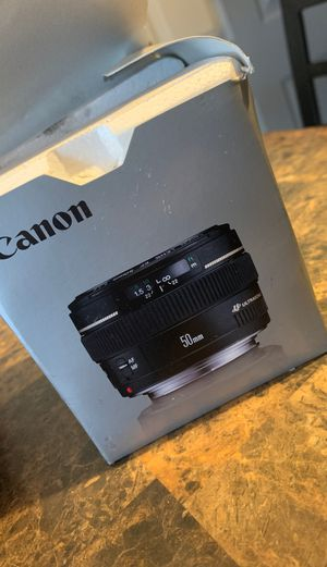 Canon lense ef50mm f/1.4USM for Sale in Hayward, CA