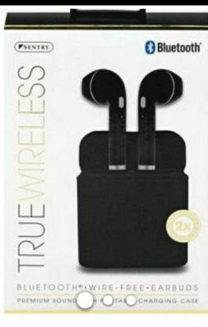 Sentry True Wireless Earbuds, Bluetooth, Wire-Free for Sale in Modesto, CA