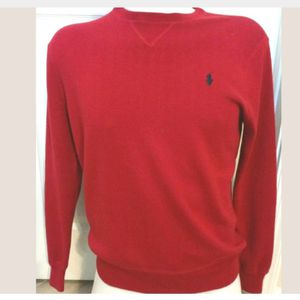 Mens Red Polo Sweater for Sale in VLG WELLINGTN, FL