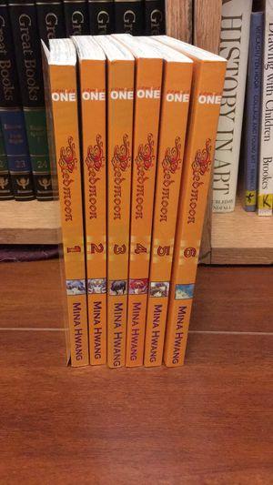 Red moon manga 1-6 for Sale in San Antonio, TX